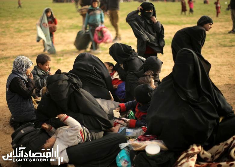 خروج گردان زنان داعشی از دیرالزور