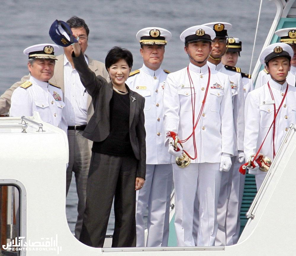 اولین زن وزیر دفاع ژاپن