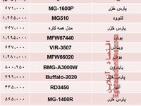 مظنه انواع چرخ گوشت در بازار تهران؟ +جدول