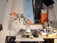 رباتی که اتاق و کمد بههمریختهتان را مرتب میکند +عکس