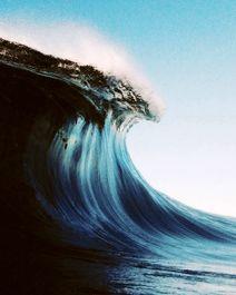 تصاویر زیبا از امواج خروشان دریا +عکس