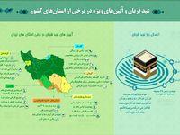 عید قربان و آئین های ویژه در برخی از استان های کشور +اینفوگرافیک