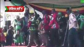 انفجار وحشتناک برای ترور رئیسجمهور در زیمباوه +فیلم