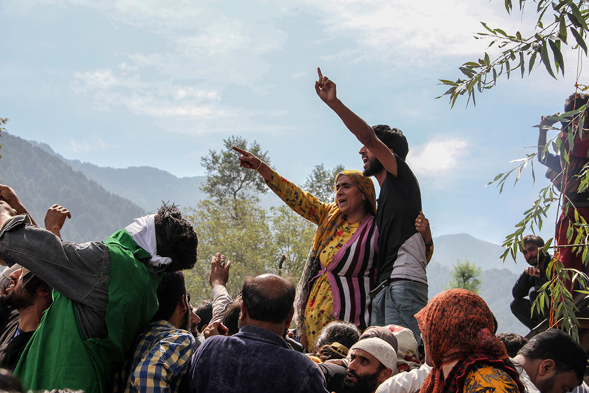 زنان کشمیر به روایت تصویر