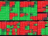 ۲۷۰ نماد بورس سبز شد! /نقشه بازار (۹۹/۷/۱۲)