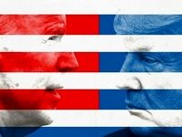 درگیری انتخاباتی در آمریکا +فیلم