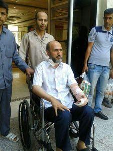 روحانی مضروب مترو از بیمارستان مرخص شد +عکس