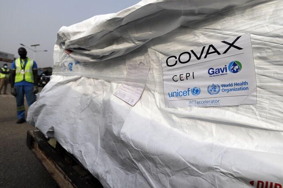 توزیع واکسنهای کرونا از طریق برنامه کوواکس