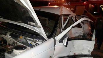 واژگونی خودرو درآزادراه دو کشته برجای گذاشت