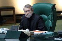 لاریجانی : تمدید تحریم ها به معنای بی اعتباری اوباما است