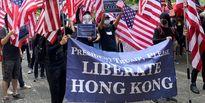 معترضان هنگکنگی خواستار مداخله آمریکا شدند