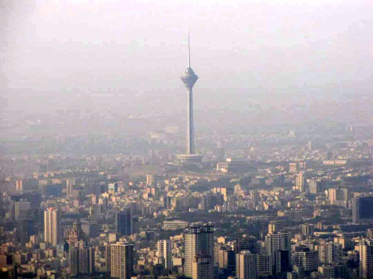 ازن هوای تهران را آلوده کرد