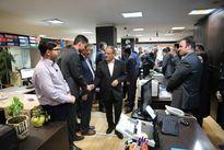 بازدید مدیرعامل بانک توسعه تعاون از شعب این بانک
