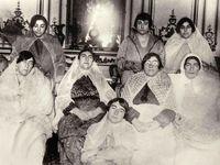 مهمانی دختران مظفرالدین شاه +عکس