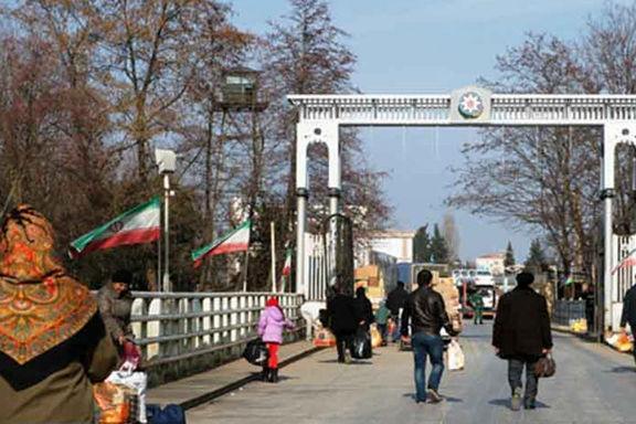 افزایش 72درصدی سفر شهروندان جمهوری آذربایجان به ایران