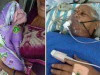 زنی ۷۳ساله در هند دوقلو زایید