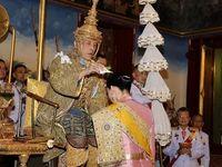 مراسم تاجگذاری پادشاه تایلند +فیلم