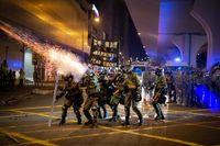 تظاهرات هنگ کنگ به آشوب کشیده شد +فیلم