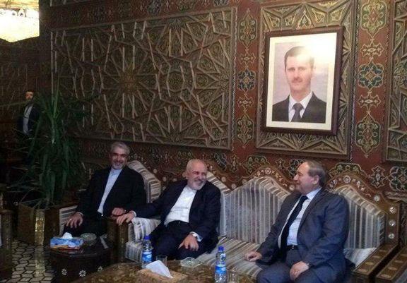 ظریف: برای اجرای توافقات دو کشور به سوریه آمدهام