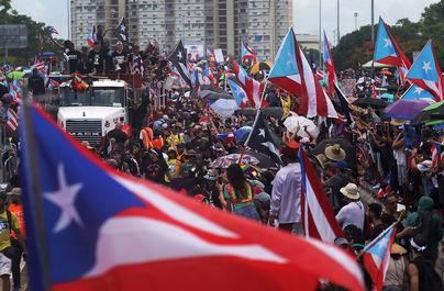تظاهرات در پورتوریکو
