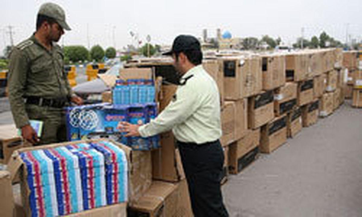 رصد قاچاق از کف بازار