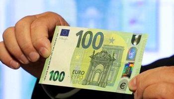 رونمایی از اسکناس های ۱۰۰ و ۲۰۰ یورویی جدید +فیلم