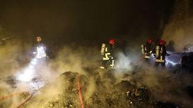 جزییات آتش سوزی در شهرک شکوهیه قم + فیلم