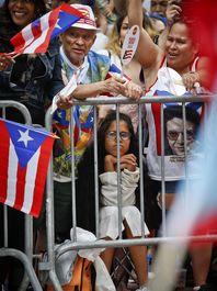 رژه روز ملی پورتوریکو در خیابانهای نیویورک