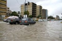 جان باختن ٧تن بر اثر سیلاب در بوشهر و هرمزگان