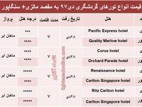 سفر به کوالالامپور و سنگاپور چقدر تمام میشود؟