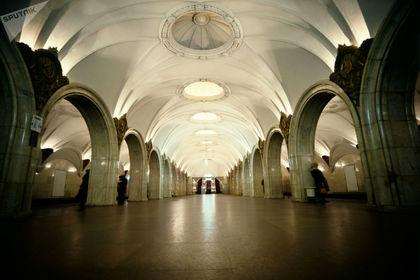 کاخهای زیرزمینی شهر مسکو +تصاویر