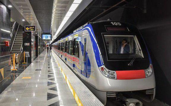 کاهش سرفاصله خط 7متروی تهران