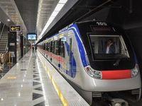 324 میلیون سفر با هزار و 800 واگن مترو