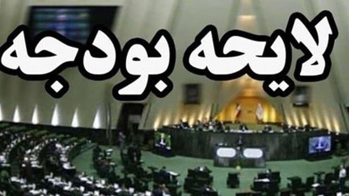 مجلس فیالبداهه لایحه بودجه را رد نخواهد کرد