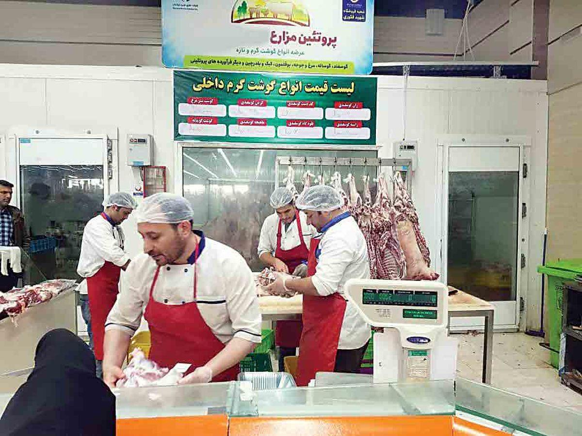 نوسان قیمت در بازار گوشت قرمز