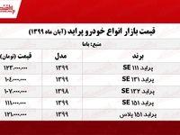 قیمت جدید پراید در تهران +جدول