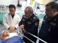 عیادت فرمانده ارتش از تنها بازمانده حادثه هواپیما +عکس