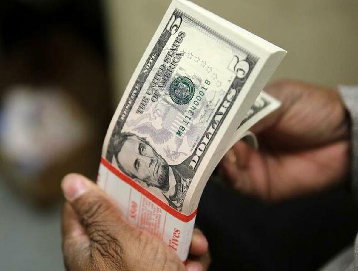 دلار در بالاترین سطح شش روز اخیر