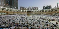 برگزاری مراسم رمی جمرات در عربستان +فیلم