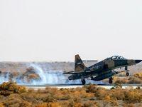 شلیک توپ ۲۰ میلیمتری جنگنده F۵ ارتش +عکس