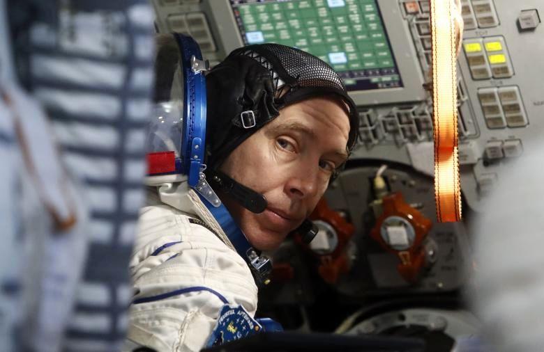 فضانوردان در راه ایستگاه فضایی