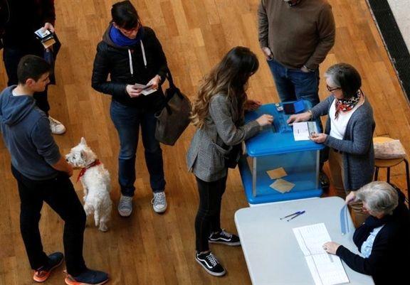 اعلام میزان مشارکت فرانسویها در انتخابات فرانسه