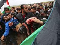 روز خونین غزه با شهادت ۱۶ فلسطینی و ۱۴۱۶زخمی