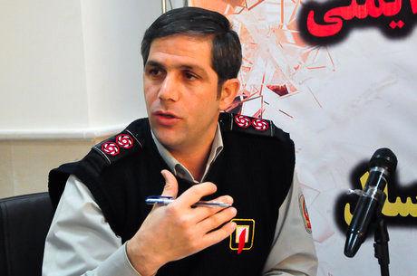 آتشسوزی در مجتمع تجاری آوا سنتر تهران