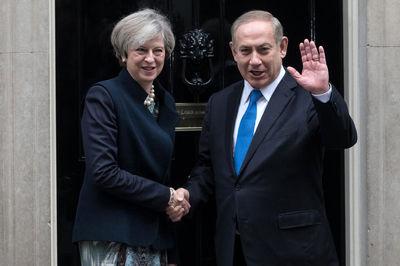 استقبال خاص از نتانیاهو در لندن +عکس