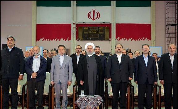 روحانی: ما در برابر یک تحریم ظالمانه و غیرقانونی آمریکا قرار گرفتیم/ کارگران در خط مقدم مقابله با تحریمهای آمریکا هستند