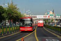 رونمایی از ۶۰دستگاه اتوبوس و ۵۰دستگاه مینیبوس در تهران