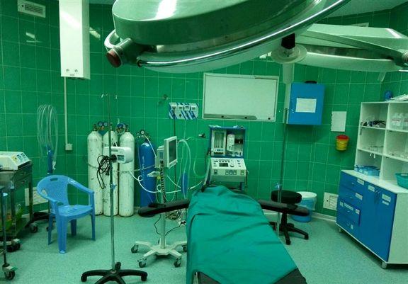 مرگ یک بیمار بر اثر سقوط از تخت در اتاق عمل