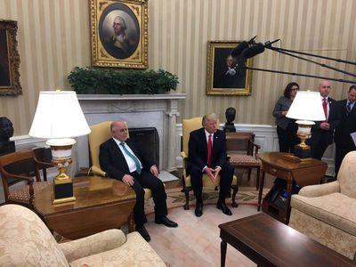 دیدار حیدر العبادی نخستوزیر عراق با ترامپ +عکس