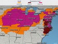 6کشته بر اثر گرما در آمریکا